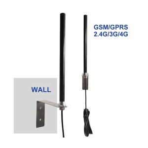 Image 2 - High gain 25dBi outdoor base station GSM GPRS 2.4 5G LTE 4G antenna RG58 cable 3 m feeder SMA male pin connector 1PCS