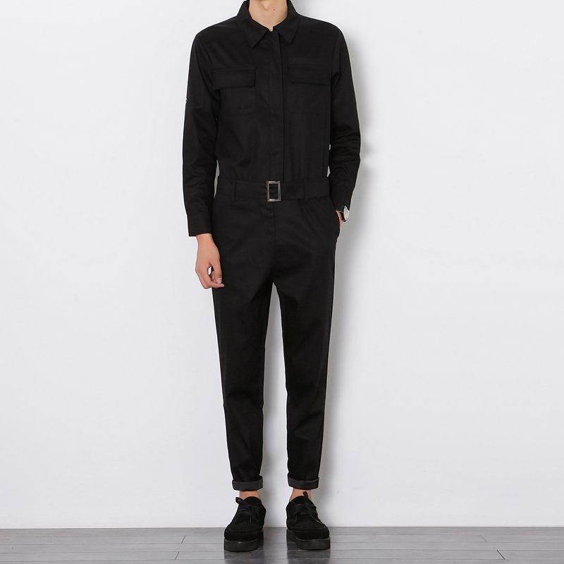 2017 Harajuku Hiphop Fracht Overalls Männer Streetwear Overall Hosen Patrizenwerkzeugs Schlanke Hosen Beiläufige Lose Latzhose 102001