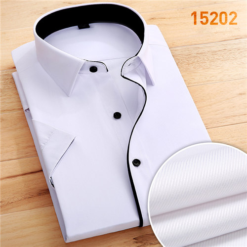 1873beb1580b 2018 Men Short Sleeve Shirts Summer Vacation Beach Cool Man Shirt Casual  Slim Male s Clothing Valentine s Day Gift Tops-in Dress Shirts from Men s  Clothing ...