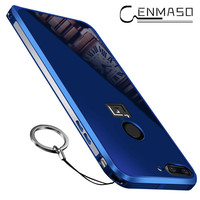 For Oneplus 5T Case For Oneplus 5T 5 Metal Frame Acrylic Mirror Back Cover Case For