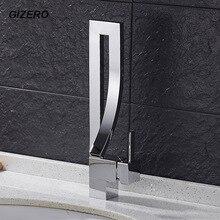 Новое Поступление Ванная Комната Креативный Дизайн Бассейна Кран Chrome Polished Высокое Качество Палуба Гора Одной Ручкой Смесители ZR664