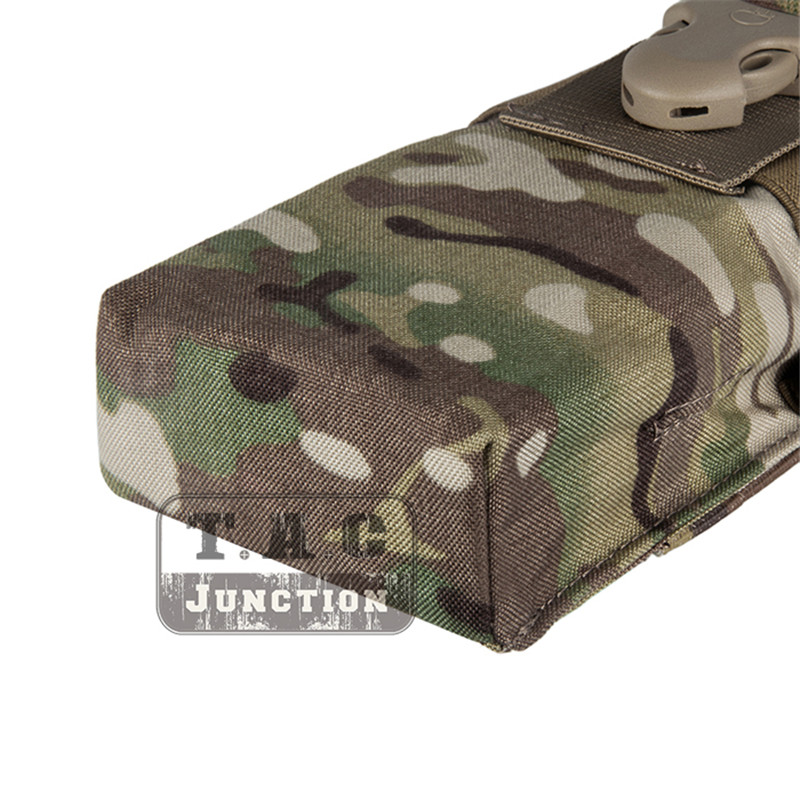 Image 4 - Emerson Tactical Radio Pouch for  MBITR PRC148 152 with Molle Strap EM8336 EMERSONGEAR MOLLE Radio Pouch for JPC,AVS.CPC Vest-in Pouches from Sports & Entertainment