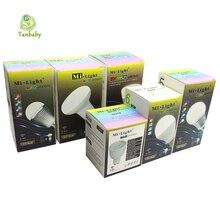 Tanbaby Mi.light LED Bulb Dimmable E27 E14 GU10 Lighting Lamp 4W 5W 6W 8W 9W RGBW RGBWW 2.4G Smart Lampara LED House Light