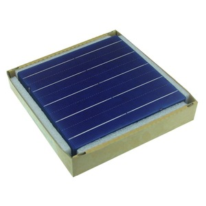 Image 5 - 40 Pcs 4.5W 18.4% Efficiency Polycrystalline Silicon Solar Cell Elements 156 x 156MM For Sale