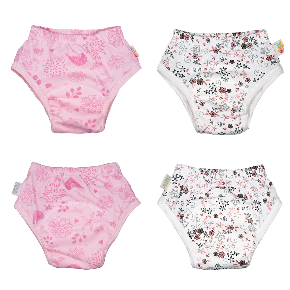 Newest Models 1PC Baby Underwear Baby Cotton Training Pants Baby Diapers Waterproof Potty Training Pants Baby Trainers Pants