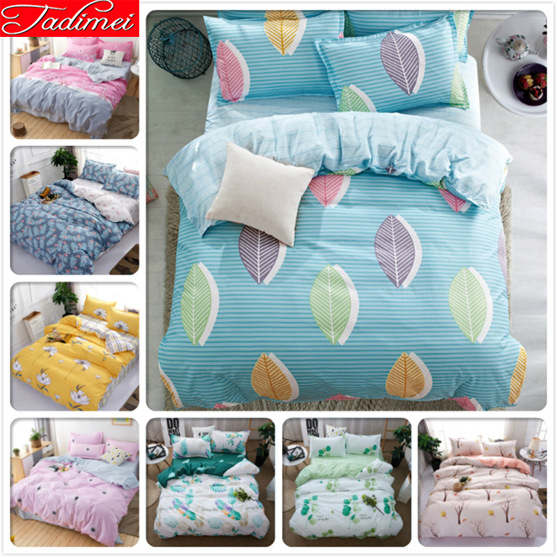Colorful Leaves Pattern Duvet Cover 3/4pcs Bedding Set Adult Kids Soft Bed Linen Single Full Queen King Size Bedspreads 150x200Colorful Leaves Pattern Duvet Cover 3/4pcs Bedding Set Adult Kids Soft Bed Linen Single Full Queen King Size Bedspreads 150x200