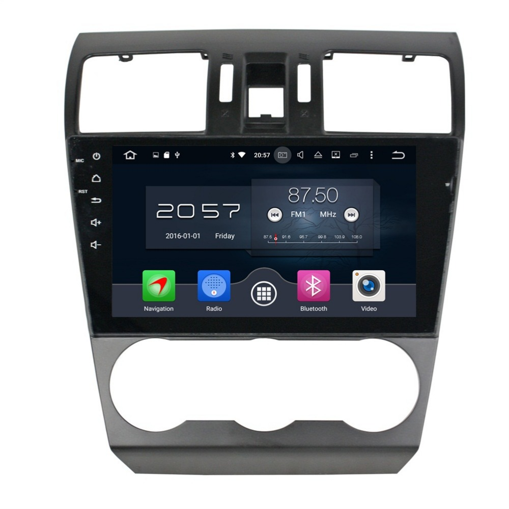 4GB RAM 9 Octa Core Android 6 0 Car Audio DVD Player for Subaru Forester 2014