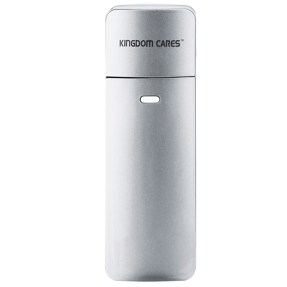 KINGDOM CARES Nano Steamer Handy Mister Facial Mist Spray Moisture Face Sprayer Rechargeable Sliding Mini USB KD777