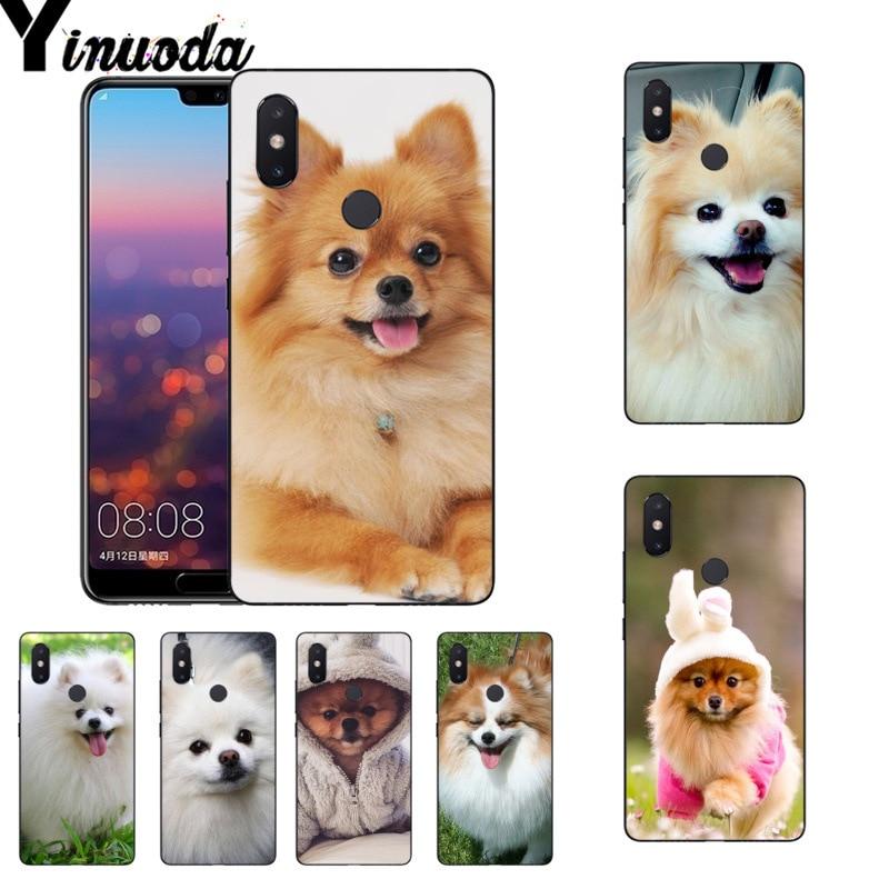 Yinuoda Pomeranian dogs dog cute Popular Coque Phone case for Xiaomi Mi 6 Mix2 Mix2S Note3 8 8SE Redmi 5 5Plus Note4 4X Note5