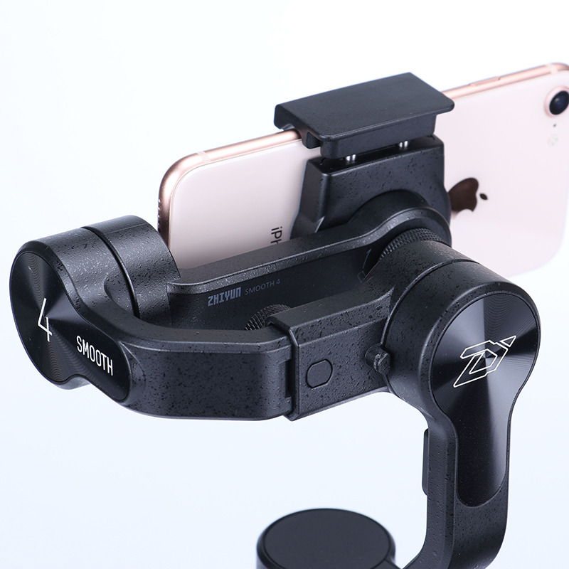 Zhiyun Smooth 4 3-Axis Handheld Smartphone Gimbal Stabilizer for iPhone XS Max XR X 8Plus 8 7P7 Samsung S9 S8 S7 & Action Camera 3