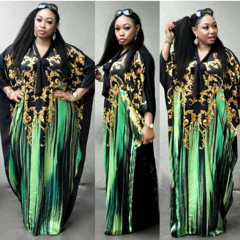 Новый стиль Африканский женская одежда Дашики модный принт эластичная ткань платье супер размеры бесплатная FH229