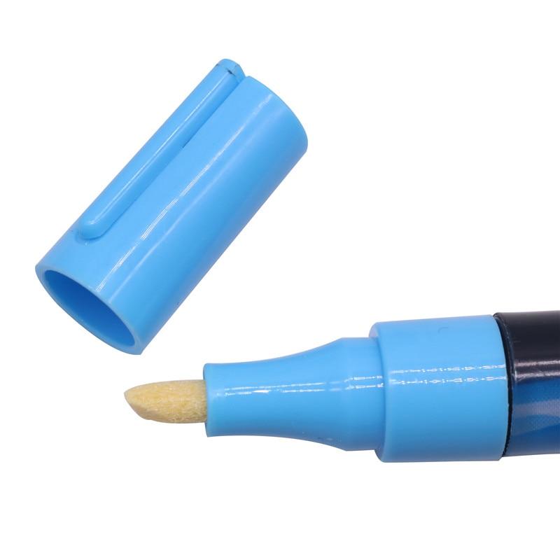 Stylo marqueur surligneur LED, stylo marqueur Queen Bee, 135mm * 4mm, 8 couleurs en option, pinceau pour apiculture, 1-2 pièces
