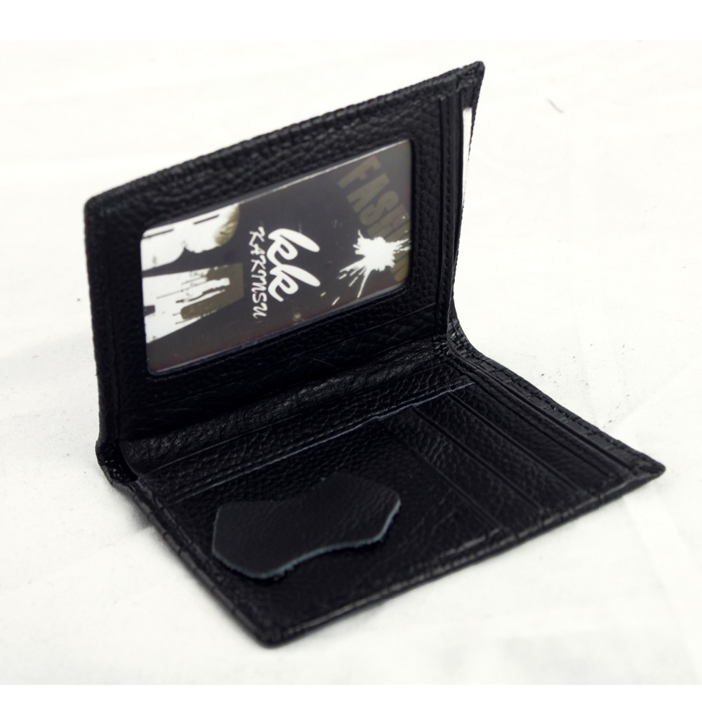 Cowskin Mini Wallets Small Men Genuine Leather Men Women Purse Individuation Exquisite Minimalist Flexible Credit Cards Holder