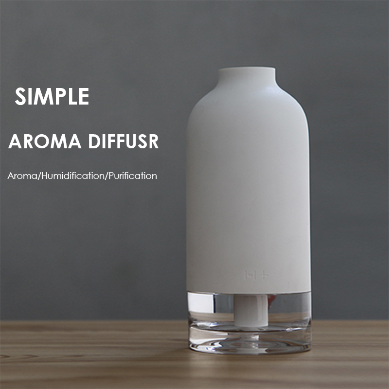 30ml/H Pureness Air Humidifier Simple Bottle USB Aroma Diffuser Household Offie Mute Essential Oil Diffuser Desktop Air Purifier