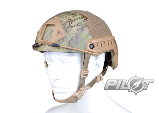 ФОТО 2015 NEW Kryptek Typhon Pilot FAST Helmet Airsoft MH adjustable ABS helmet (PH0601-Mandrake)