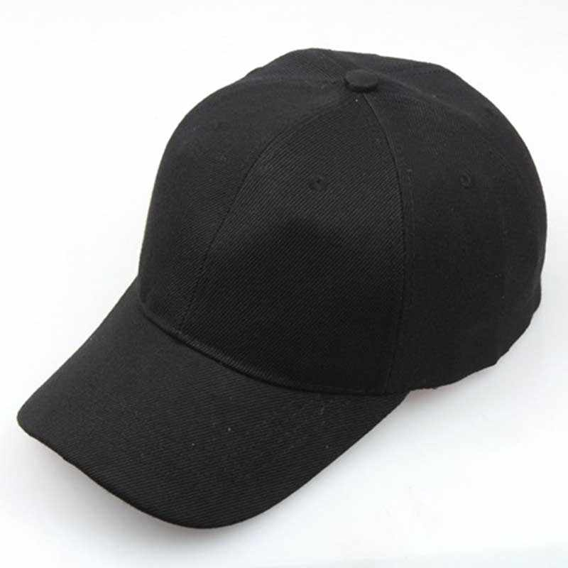 Boné de beisebol de hip-hop da bola de golfe do snapback ajustável do chapéu de beisebol do sol da cor sólida pura por atacado do verão