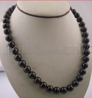 FREE Shipping WOW Charming 10mm GARNET Necklace 17 Jewelry S
