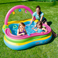 Multi-Function Cute Ball Inflatable Water Pool Bobo Family Playground  Children Baby Sand Ball Pool Outdoor piscine A100