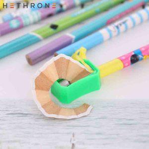 Image 4 - Hethrone 12 sztuk zwierząt drewniane ołówki dla uczeń pisanie zestaw ołówków kredki szkic grafitowe lapices szkolne