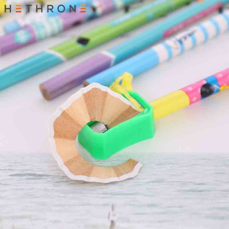 Image 4 - Hethrone 12pcs Animal wooden pencils for school Student writing drawing pencil set crayons sketch graphite lapices school items-in Standard Pencils from Office & School Supplies