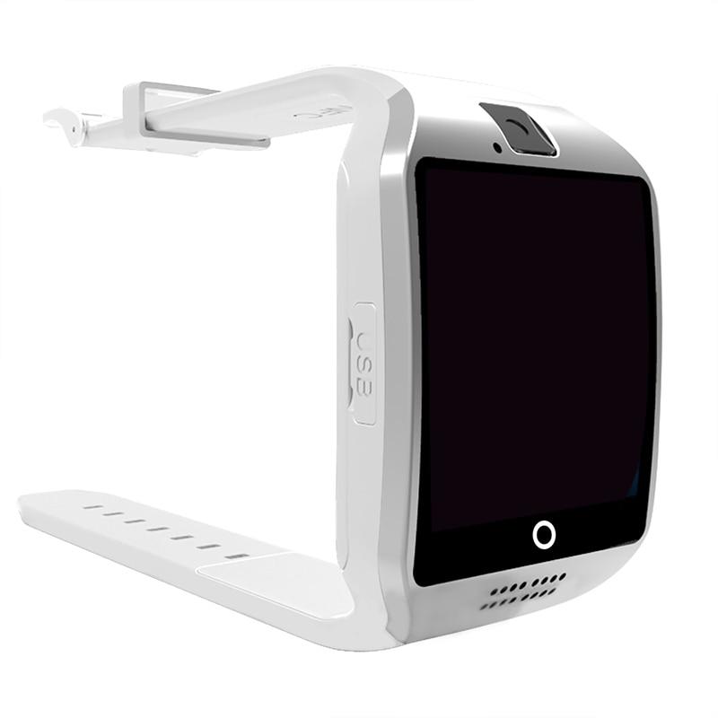 1e2c482f468 Q18 Bluetooth Relógio Inteligente com Câmera Whatsapp Facebook Twitter Sync  SMS Apoio Cartão TF SIM Para IOS Android pk DZ09 x1 em Relógios inteligentes  de ...