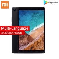 Original Xiaomi Mi Pad 4, 32G/64G 1920x1200px 13.0MP+5.0MP Cam OTG MiPad 4 Tablets 8 PC Snapdragon 660 Octa Core Tablet Android