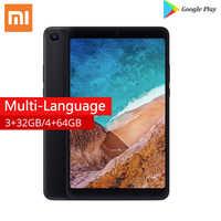 Original Xiaomi Mi Pad 4, 32G/64G 1920x1200px 13.0MP+5.0MP Cam OTG MiPad 4 Tablets 8