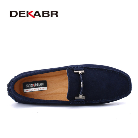 DEKABR Trendy Men Casual Shoes Big Size 38-47 Brand Summer Driving Loafers Breathable Wholesale Man Soft Footwear Shoes For Men Lahore