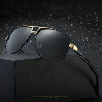c35c8dcbbb Los hombres gafas de sol polarizadas de marca de moda de diseño de  conducción gafas hombre gafas UV400 rayos, gafas de sol para hombres, gafas  de sol