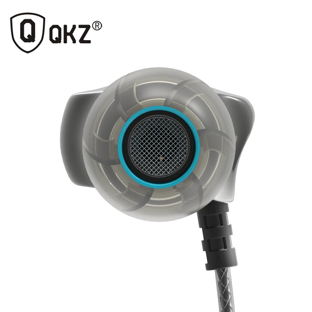 QKZ DM7 Earphone Metal Stereo Noise Isolating In-ear Earphone Music Headset Auriculares fone de ouvido DJ audifonos DJ MP3