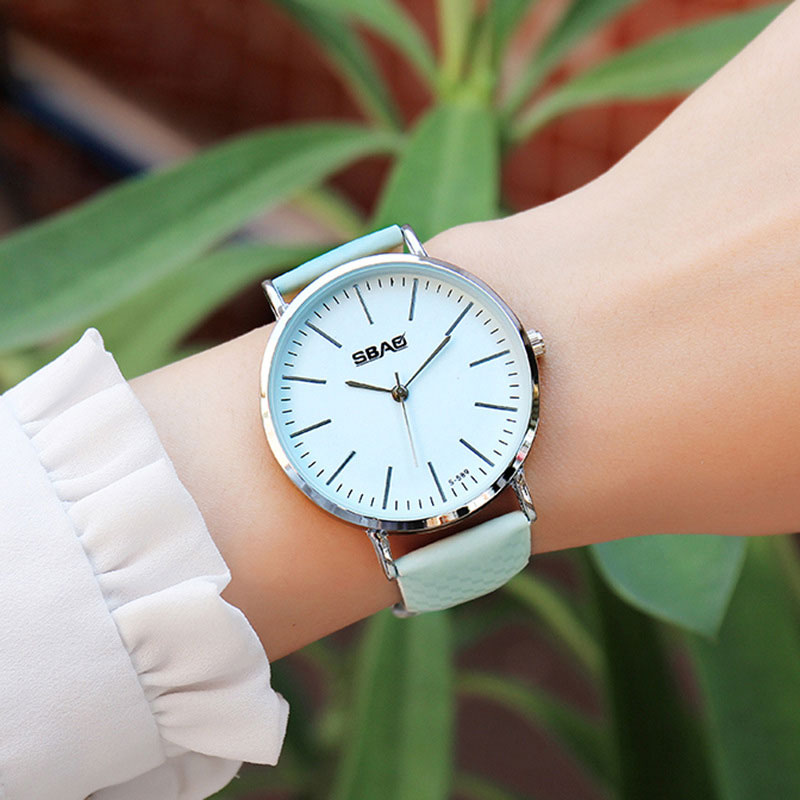 SBAO 2018 Wrist Watch Women Watches Ladies Brand Luxury Famous Quartz Wristwatch For Female Clock Montre Femme Relogio Feminino relogio feminino sinobi watches women fashion leather strap japan quartz wrist watch for women ladies luxury brand wristwatch