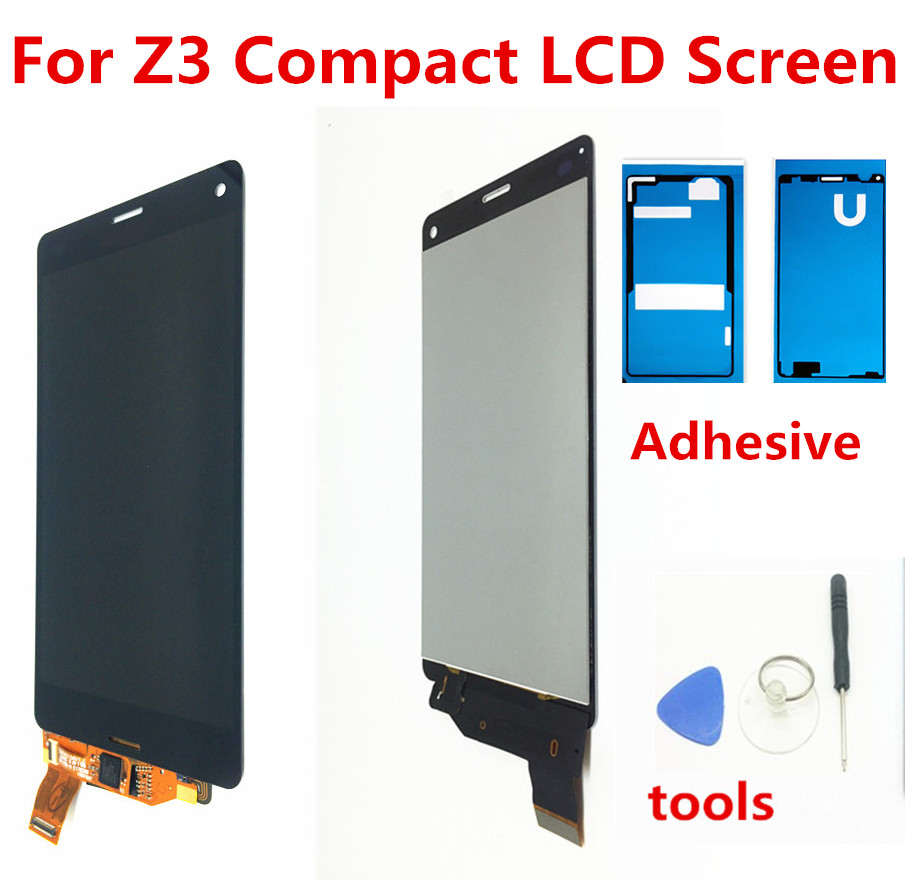 4,6 zoll Für Sony Xperia Z3 Compact LCD Display Z3 mini D5803 D5833 z3mini lcd Touch Screen Digitizer Montage