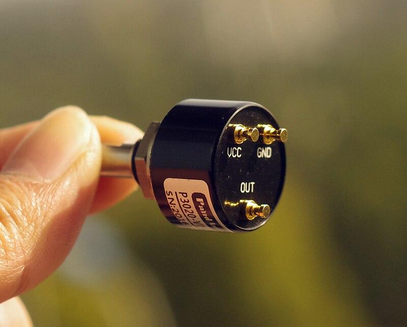 2 шт./лот бесконтактный датчик угла перемещения цифровой потенциометр 0 360 градусов без мертвого угла датчик положения