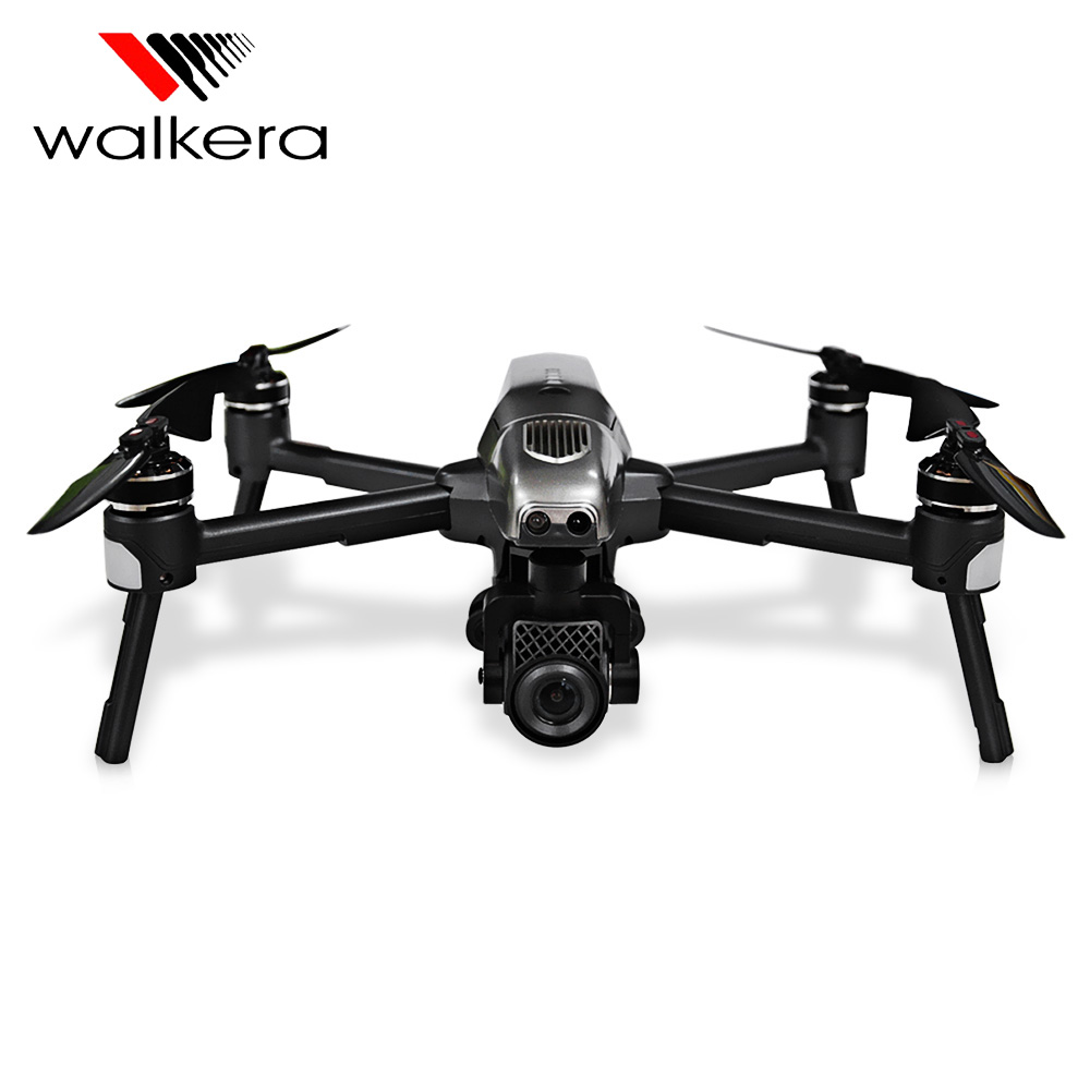 Original Walkera VITUS 320 5.8G Wifi FPV With 3-Axis 4K Camera Gimbal Obstacle Avoidance AR Games Drone VS DJI MAVIC Pro Spark original walkera devo f12e fpv 12ch rc transimitter 5 8g 32ch telemetry with lcd screen for walkera tali h500 muticopter drone
