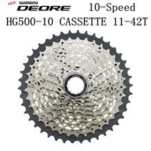 SHIMANO DEORE M6000 CS HG500-10 горный велосипедный маховик MTB HG500 10 кассеты звездочки 11-42 т 11-36T 11-34T 10 Скорость HG50-10
