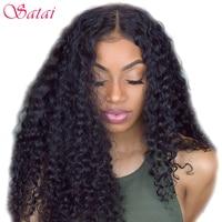 Satai Deep Wave Brazilian Hair Weave Bundles 1 Piece 100 Human Hair Non Remy Hair Extension