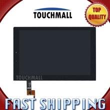 Para nueva pantalla lcd de pantalla táctil asamblea reemplazo lenovo yoga tablet 2 1050 1050f 1050l mcf-101-1647-01-v4 envío gratis