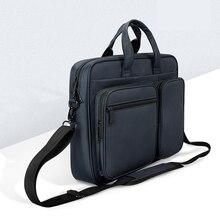 Новинка 2020, мужская деловая сумка для ноутбука, портфель, сумка, сумка для офиса, путешествий, сумка для ноутбука, сумка для поездок для macbook 13,3, 14, 15,6 дюймов