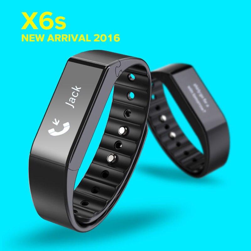 Genuine Vidonn X6s Bluetooth 4.0 IP65 Smart Wristband with Sleep Monitor, Sports & Sleep Tracking, Caller ID & Message Display