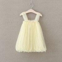 Verano de la muchacha condole perla vestido del tutú, vestidos para niñas, niña, 5 unids/lote ZY04