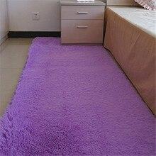 Изысканные радость 60*160 см Мода Carpet Спальня Украшения Soft Floor Carpet Теплый Красочный Гостиная Коврики Скольжения скольжению Коврики