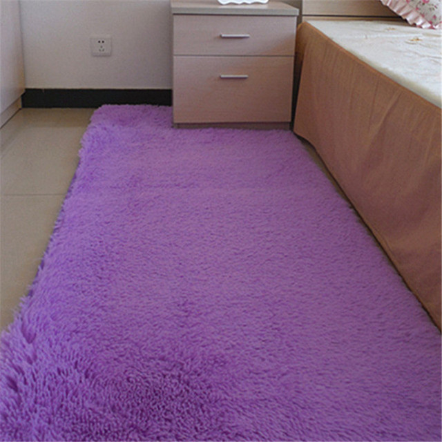 Fine Joy 60 160cm Fashion Carpet Bedroom Decorating Soft Floor Warm Colorful Living Room