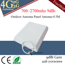 2G 3G 4G Panel Antenna 700-2700MHz CDMA GSM DCS LTE Outdoor antenna gsm Cell Phone Signal Repeater 4g mobile booster and antenna 3g gsm cdma 2 4g 14dbi rp sma male antenna