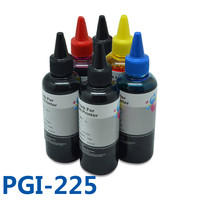 600ml PGI225 CLI226 Ciss Bulk Ink Dye Refill Ink Kit For Canon PIXMA MG6120 MG6220 MG8220