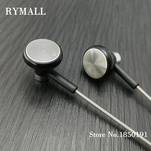 Image 1 - RY04 original in ear Earphone metal manufacturer 15mm music quality sound HIFI Earphone (ie800 style), 3.5mm, New weaving cable