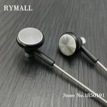 RY04 original in-ear Earphone metal manufacturer 15mm music quality sound HIFI