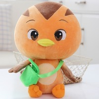 25cm 4 Color Stuffed Sprouting Chicken Team Plush Toy For Children Gifts