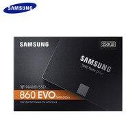 SAMSUNG SSD 860 EVO 250 ГБ встроенной твердотельный диск 500 ГБ 1 T HDD жесткий диск SATA3 2,5 дюйма для ноутбуков настольных ПК MLC