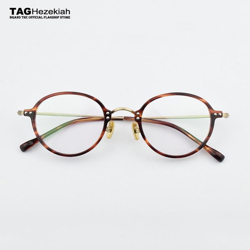 glasses frame women men 2019 Vintage round optical glasses frame Myopia computer radiation protection Retro eyeglasses frames