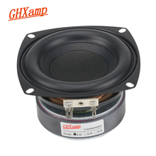 GHXAMP 1PC 4 אינץ 40W סאב רמקול וופר גבוהה כוח ארוך שבץ בס קולנוע ביתי עבור 2.1 סאב יחידת רמקולים DIY